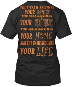 YOUR TEAM BECOMES YOUR FAMILY | Teespring
