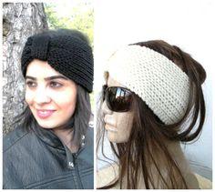 BUY TWO HEADBAND  Choose Your Color Hand Knit  Headband   by Ebruk, $35.00