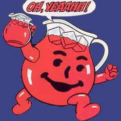 Here's a list of the Top 10 Untold Truths of Kool-Aid. Kool-Aid has been in the hearts and minds of people through generations, these are 10 things you didn'. Kool Aid Man, Cubs Win, Vintage Candy, Political Satire, Family Planning, Cartoon Characters, Fictional Characters, Me Too Meme, My Childhood Memories