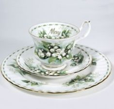 Royal Albert China Series - Flower of the Month Series 1970