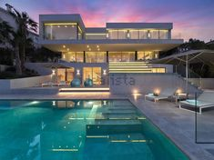 Imagen Pool house or chalet in Calvià Mansions, Interior Design, Lighting, House Styles, Home Decor, Interior Lighting Design, Style At Home, Home Layouts, Projects