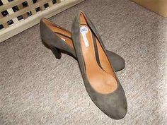 GEOX ladies REAL LEATHER Court Shoes SIZE UK6 EU39 BNWOB RRP£85 now £24.99