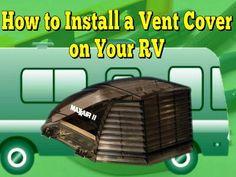 rv roof vent installation instructions