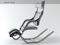 Varier Furniture Gravity Balans 3d model | Peter Opsvik