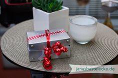 Geldgeschenk zur Hochzeitsreise Papierkoffer Heavy Weight (mit viel Kleingeld)