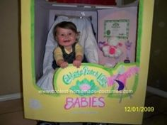 Stroller halloween costume ideas! I cant wait to start working on it! cabbage-patch-kid