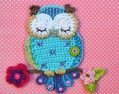 Crochet pattern  Owl purse by VendulkaM digital pattern