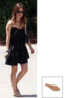 219b2a888 Tkees Foundation Leather Sandal - as seen on Rachel Bilson