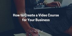 Interested in creating a video course for your business? Find out if you need one, how to test your idea, and the 6 step process we used to create ours. Small Business Marketing, Content Marketing, Online Business, Lead Generation, Create, Videos, Tips, Inspiration, Biblical Inspiration