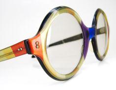 These are so effin cool! Vintage Round Transitional LensesTampico RayBans Eyeglasses Eyewear Frame. $50.00, via Etsy.