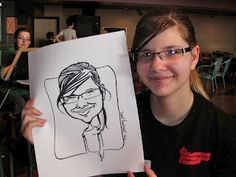 MY DRAWING STYLE! I love doing caricatures!