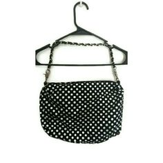 Black and white polka dot purse Black and white polka dot bag. Brand new. Never used. In very good condition. Will measure if anyone is interested. Bags Shoulder Bags