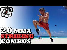 20 Unique MMA Striking Combos (Muay Thai, Taekwondo, Boxing) - pinned by emancipated squirrel