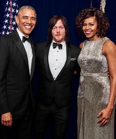 Norman and the Obamas, WHCD.