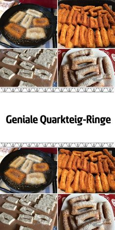 Geniale Quarkteig-Ringe - Famous Last Words Cupcakes, Apple Pie, Sausage, Biscuits, Food And Drink, Sweets, Meat, Cooking, Desserts