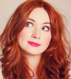 Amy Pond :) If i ever stop dyeing my hair this fire engine red, im totally going amy pond red.