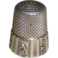 Antique Sterling Silver Ketcham & McDougall Thimble.