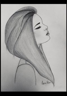 Sad Girl - drawing by Roosa Mari. Credit due to website InspireLeads.