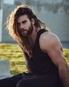 Brock O'hurn - I want! Hairy Men, Bearded Men, Brock Ohurn, Long Haired Men, Hipster Noir, Hair And Beard Styles, Long Hair Styles, Man Bun Hairstyles, Mode Man