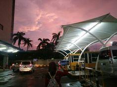 Beautiful sky in bekasi   06.30 pm