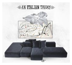 """""""an Italian theory..."""" by ian-giw ❤ liked on Polyvore featuring interior, interiors, interior design, home, home decor, interior decorating, Slamp and An Italian Theory"""