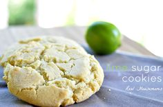 It's so hard to stop eating these Lime Sugar Cookies! The lime flavor is so refreshing with the sweetness of the sugar cookie, you'll have a hard time stopping after just one!