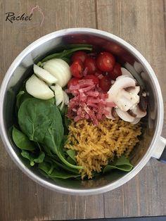 One pot pasta léger, vous connaissez ?? C'est un plat complet ou tout cuit en même temps, donc pas besoin de sortir 15 casseroles ...
