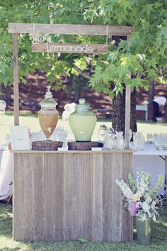 Our lemonade bar