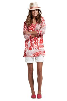 Loving this look - a great colour and Kaftan top.  http://www.hereiamloulou.com/2011/11/friday-fashion.html