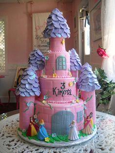 Castle Cake #2 by johnniekake, via Flickr