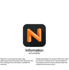 Newsful, Information as it should be by DHNN Creative Agency , via Behance