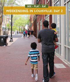 Weekending In Louisville, KY Family Guide via @sheenatatum
