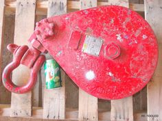 Johnson Blocks 12 Ton Rigging Cable Snatch Block Pulley Tow Truck Crosby Shackle #JOHNSON