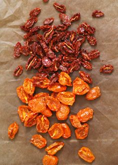 How to make Dried Tomatoes
