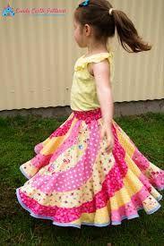 Bildresultat för swirl skirt pattern