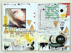 SODAlicious art journal challenge No38 ► made by Mumkaa