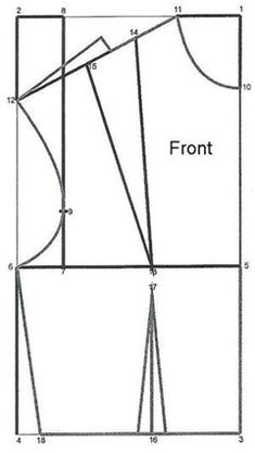 How to Draft a Basic Bodice Pattern. See also http://voices.yahoo.com/video/how-draft-basic-bodice-7577092.html?cat=24