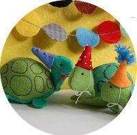 8 turtle plushie tutorials. So cute!