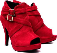 Klaur Melbourne Klr 8-Red Heels - Buy Red Color Klaur Melbourne Klr 8-Red Heels Online at Best Price - Shop Online for Footwears in India | Flipkart.com