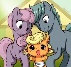 Applejack's parents? livestream by hinoraito.deviantart.com