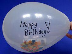 Money balloon gift #birthday #idea
