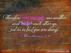 Build Each Other Up - Be Forever 31