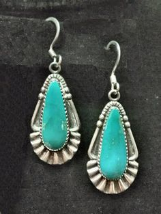 Vintage Mexican Silver Turquoise good gosh!  my mom gave me the pendant when I was in my early 20's . . . when turquoise was the rage.  luckily, I wear what I like and not what is trendy.