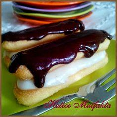 Hatice Mutfakta: Kedidili Bisküviden Kolay Ekler Pasta