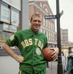 Tommy Heinsohn at Faneuil Hall in 1964.