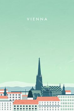 Travel Poster - Katinka Reinke Illustration