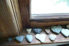I love heart shaped rocks