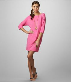 lilly pulitzer - cassie dress slub