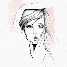Sketching. . . #draw #drawing #illustration #fashionillustration #watercolor #monicaruf