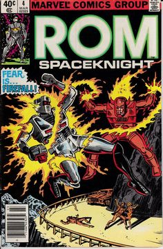 Rom 1979 4 March 1980 Issue Marvel Comics Grade G by ViewObscura